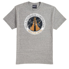 Grey Marl Drax Enterprise Corporation T-Shirt - Villains Limited Edition
