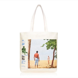 Dr. No Vintage Poster Tote Bag l Official James Bond 007 Store