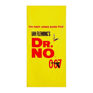 Dr. No Vintage Poster Beach Towel l Official James Bond 007 Store