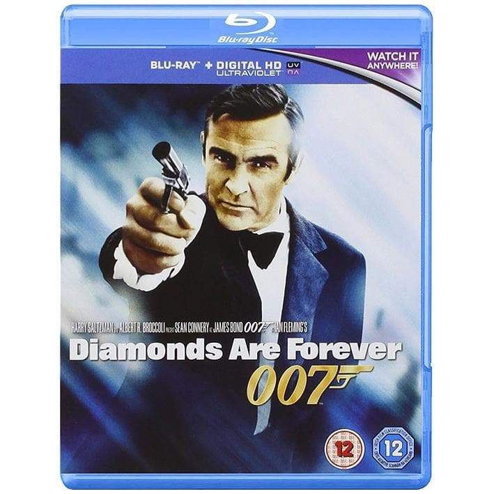 Diamonds Are Forever Blu-Ray - 007STORE