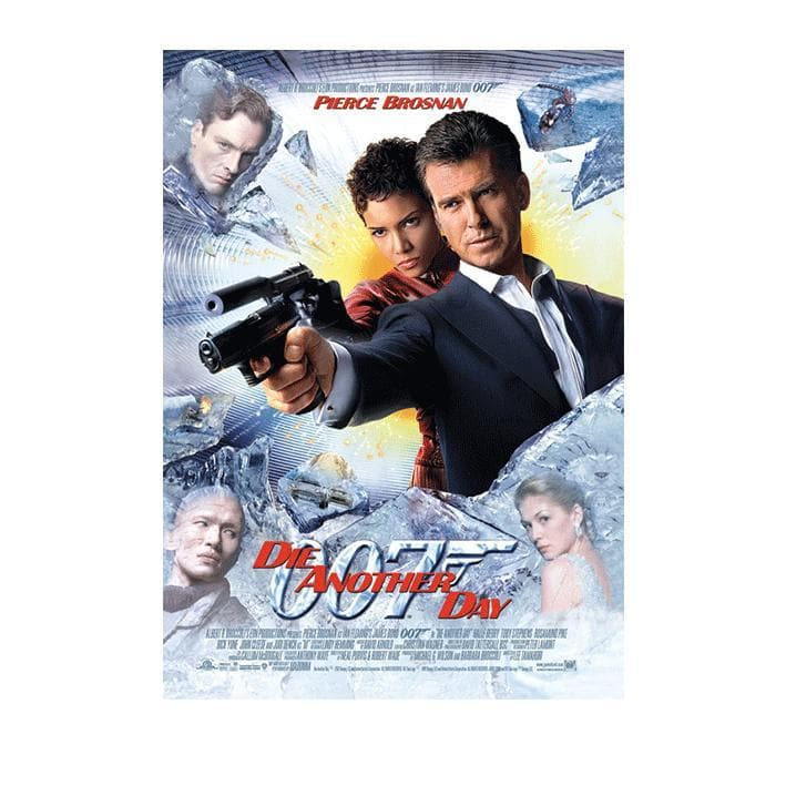 Die Another Day Postcard - 007Store