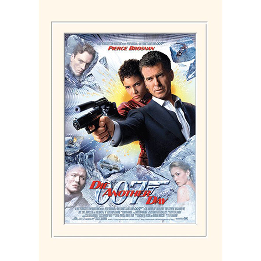 Die Another Day Mounted Print l Official James Bond 007 Store