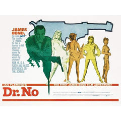 Dr. No Landscape (Gun) 85 X 120cm Canvas l Official James Bond 007 Store
