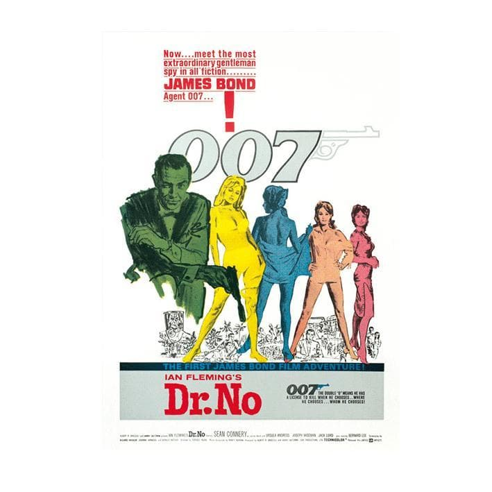 DR. NO POSTCARD l Official James Bond 007 Store