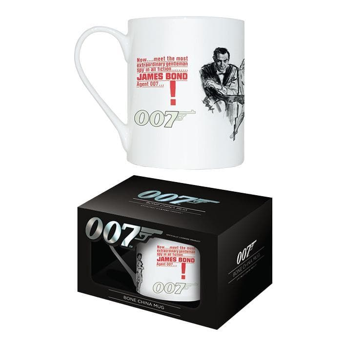 Dr. No Bone China Mug - 007STORE