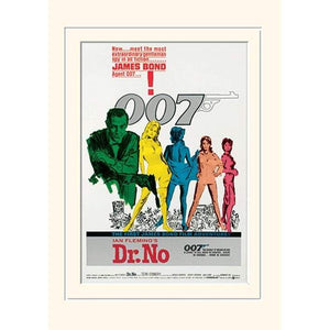 Dr. No 30 x 40cm Mounted Print - 007STORE