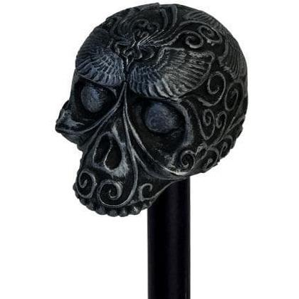 James Bond Day of the Dead Skull Cane Prop Replica - Spectre Numbered Edition - 007STORE