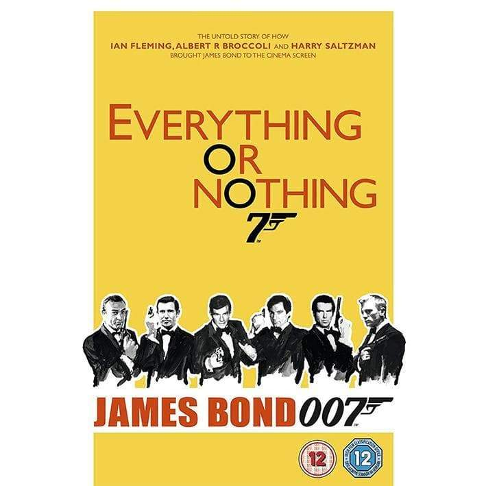 Everything Or Nothing - The Untold Story Of 007 DVD - 007STORE