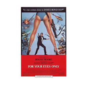 For Your Eyes Only Postcard - 007Store