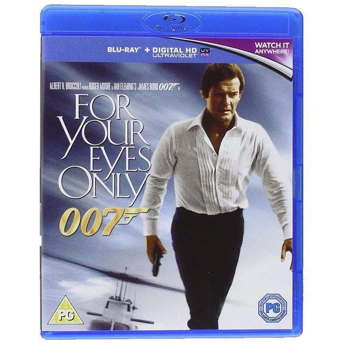 For Your Eyes Only Blu-Ray - 007STORE
