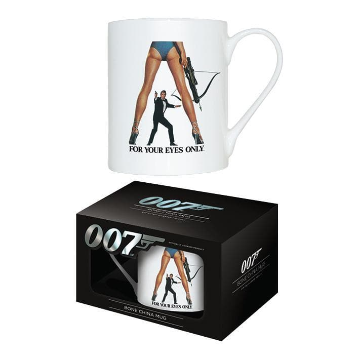 For Your Eyes Only Bone China Mug - 007STORE