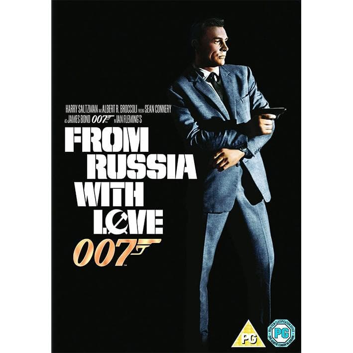 FROM RUSSIA WITH LOVE DVD