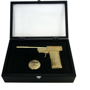 Scaramanga's 24ct Golden Gun Prop Replica - Numbered Edition (Pre-order) - 007STORE