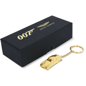 Aston Martin DB5 Gold Finish James Bond Keyring