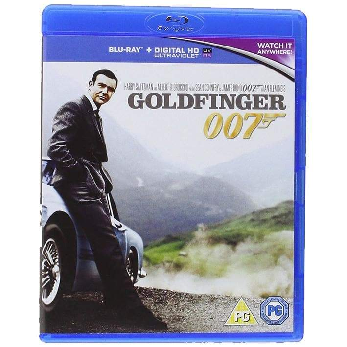 Goldfinger Blu-Ray - 007STORE