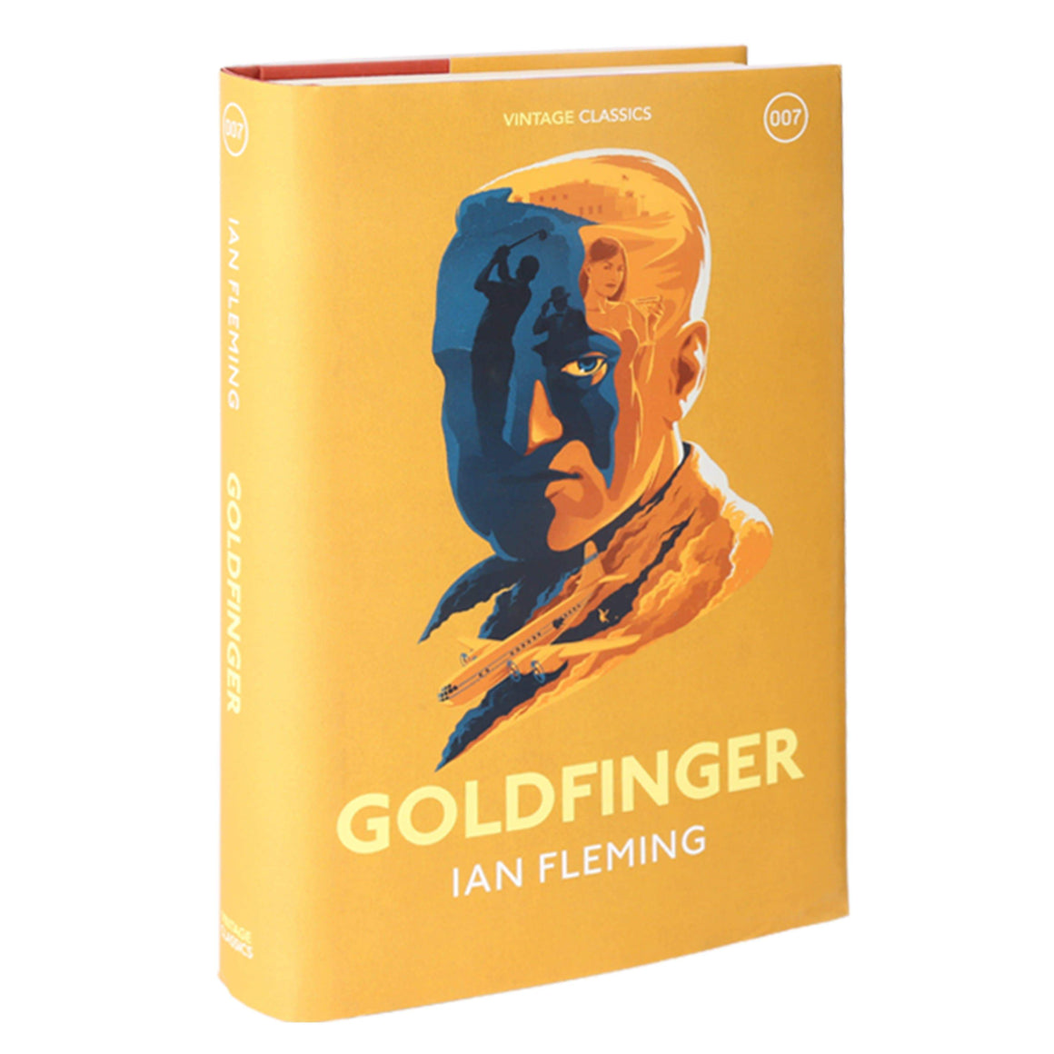 Goldfinger: Vintage Classics Hardback Book - By Ian Fleming - 007STORE