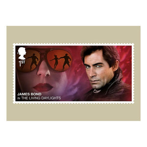 Royal Mail James Bond Stamp Postcard Set - 007STORE