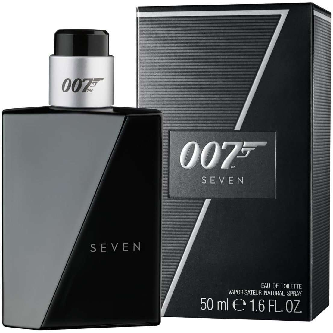 James Bond 007 Seven For Men Eau De Toilette Fragrance (50ml)