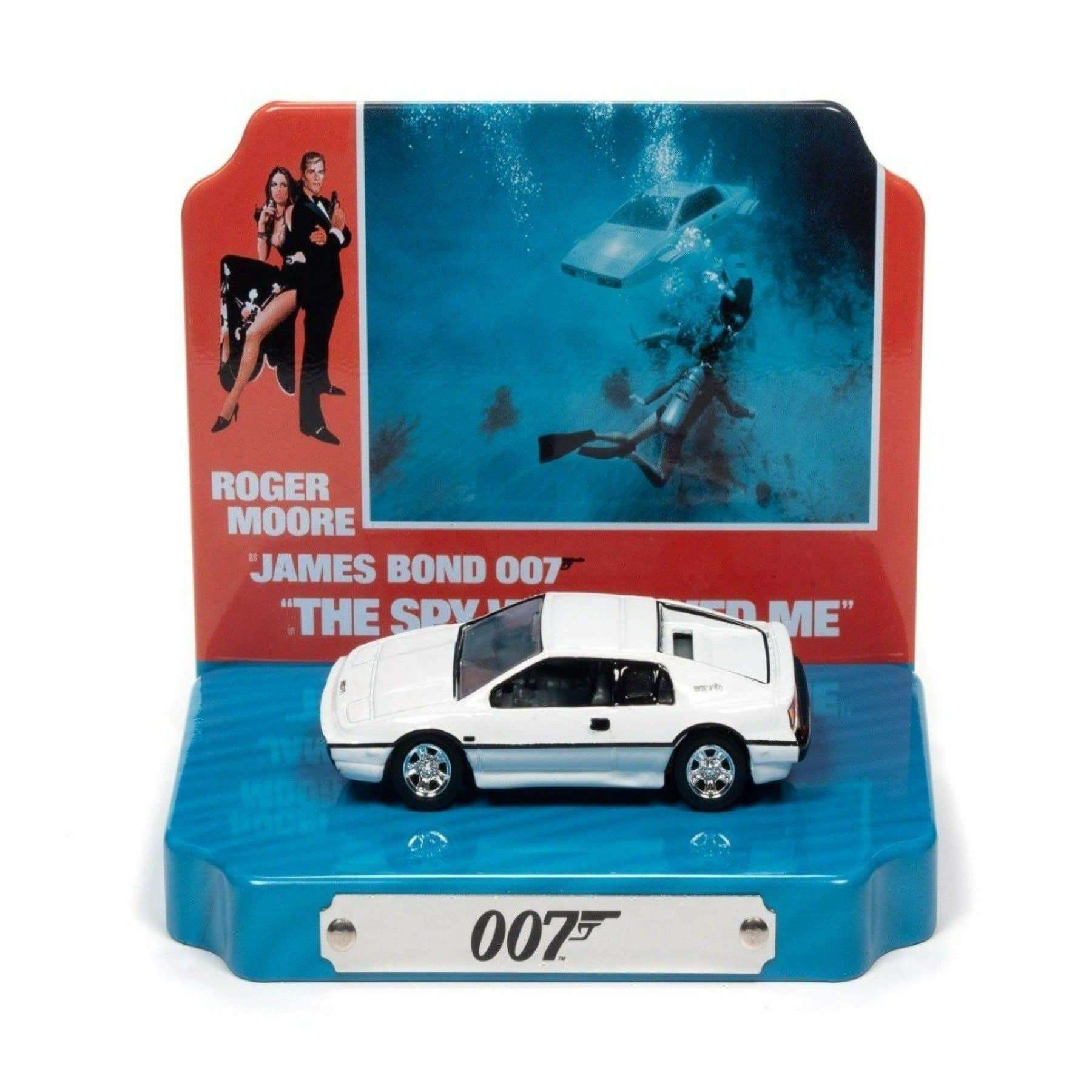 Lotus Esprit Car with Display Tin - The Spy Who Loved Me Edition - By Round 2