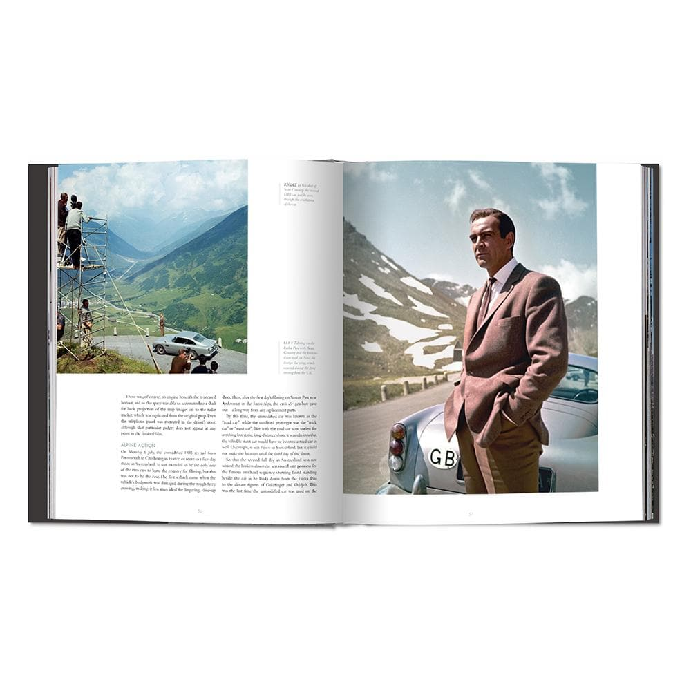 James Bond's Aston Martin DB5 Book (Pre-order)