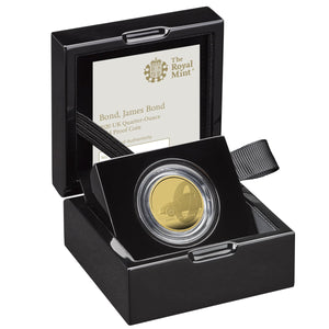 James Bond Quarter-Ounce Gold Proof Coin - By The Royal Mint