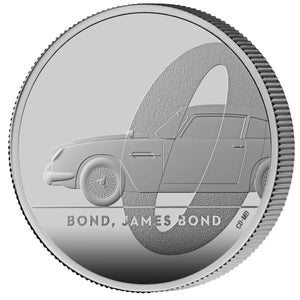 James Bond 1oz Silver Proof Coin - By The Royal Mint - 007STORE