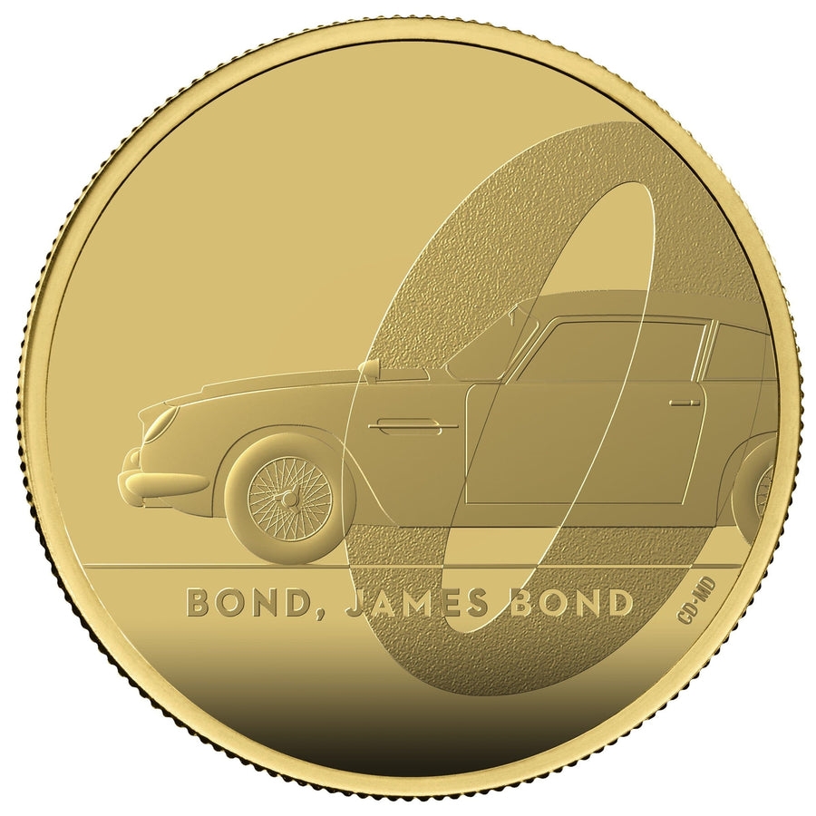 James Bond 1oz Gold Proof Coin - By The Royal Mint