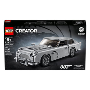 James Bond Aston Martin DB5 Car Model - By LEGO Creator Expert - 007STORE