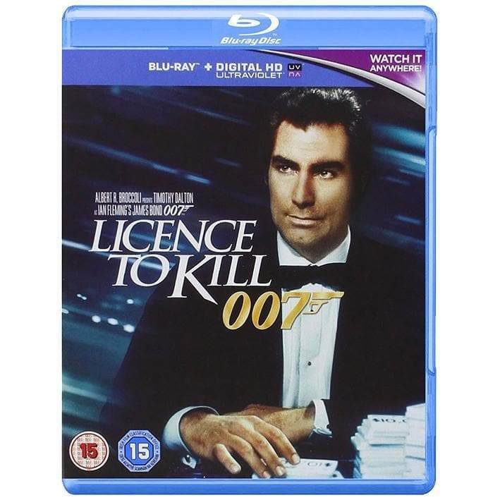 Licence To Kill Blu-Ray - 007STORE