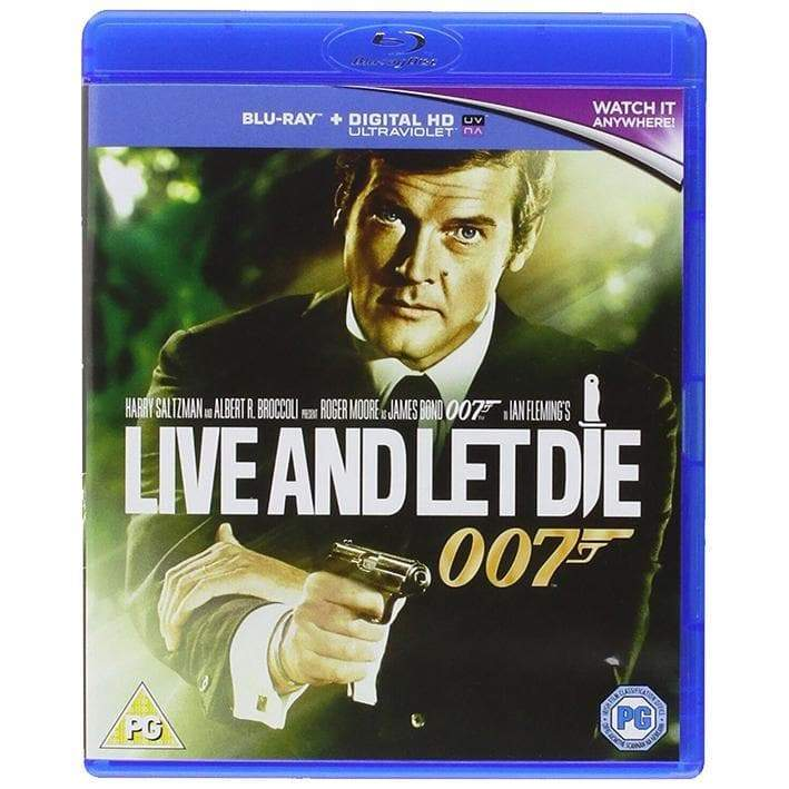 LIVE AND LET DIE BLU-RAY