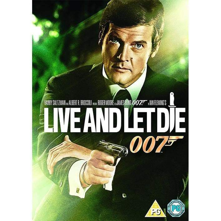Live and Let Die DVD - 007STORE