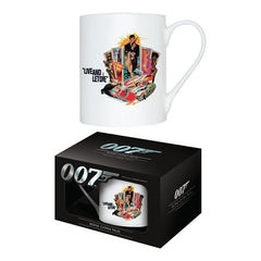 LIVE AND LET DIE - BONE CHINA MUG