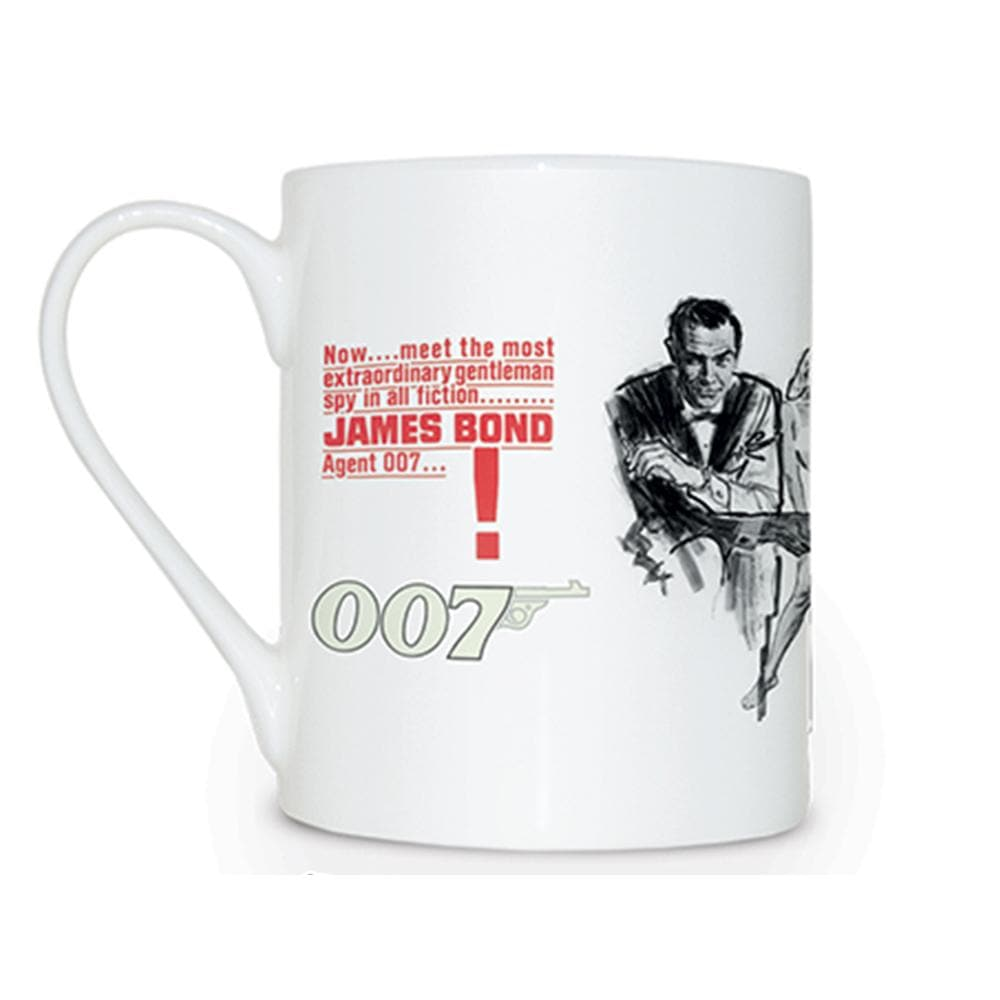 Dr. No Bone China Mug l Official James Bond 007 Store