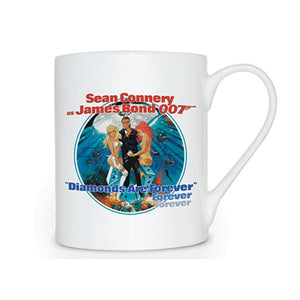 Diamonds Are Forever Bone China Mug - 007STORE