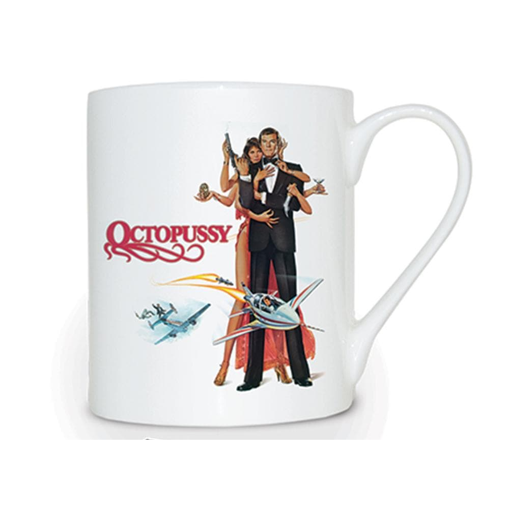 Octopussy Bone China Mug - 007STORE