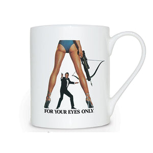 For Your Eyes Only Bone China Mug