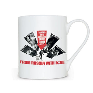 From Russia With Love Bone China Mug - 007STORE