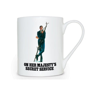 On Her Majesty's Secret Service Bone China Mug - 007STORE