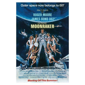 Moonraker 85 X 120cm Canvas - 007STORE
