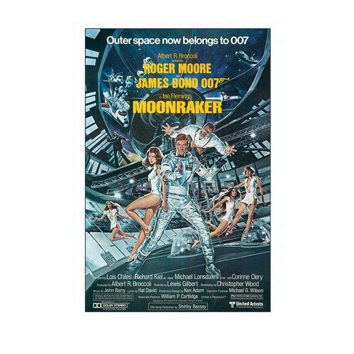 MOONRAKER POSTCARD