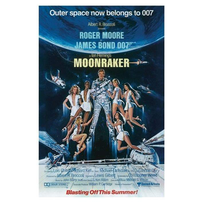 Moonraker 30 X 40cm Canvas - 007STORE