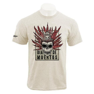 Natural Día De Muertos Poster T-Shirt - Spectre Limited Edition