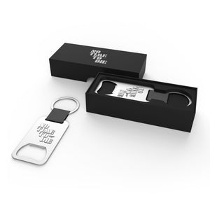 007 Bottle Opener Keyring - No Time To Die Edition - 007STORE