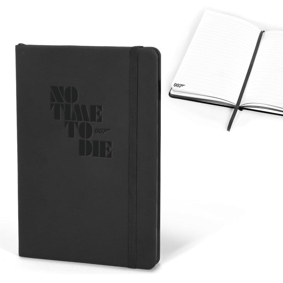 007 Black A5 Notebook  - No Time To Die Edition - 007STORE