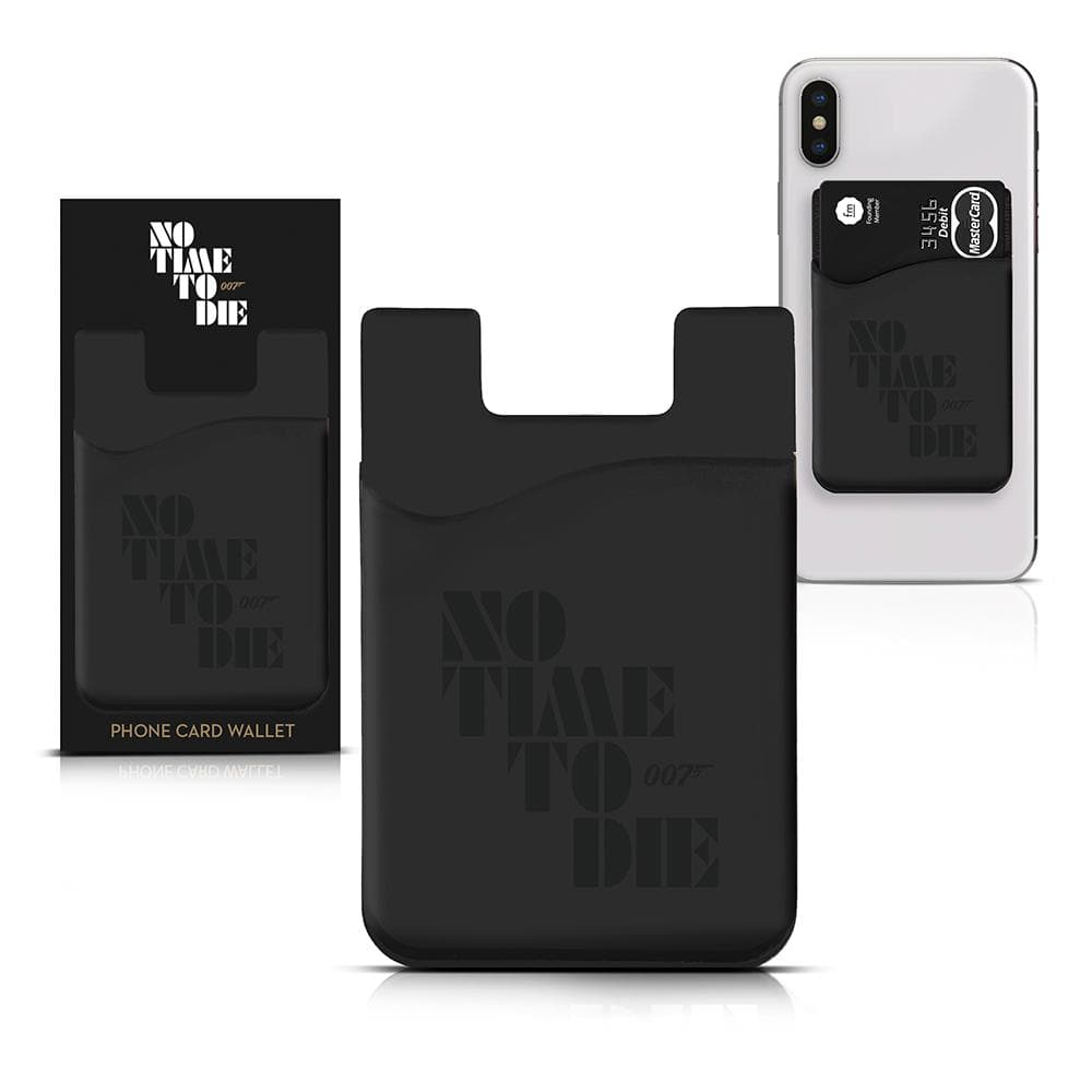 Stick-on Phone Wallet - No Time To Die Edition - 007STORE