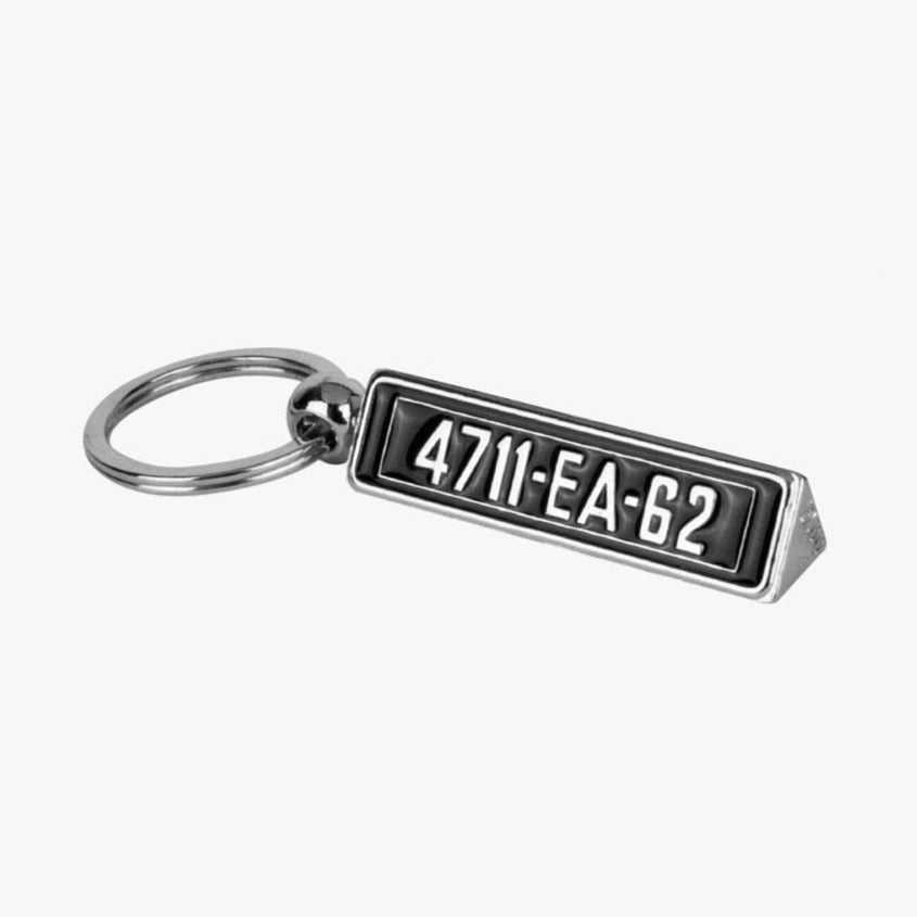 Aston Martin DB5 Number Plate Keyring - Goldfinger Edition - 007STORE