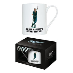 ON HER MAJESTY'S SECRET SERVICE - BONE CHINA MUG