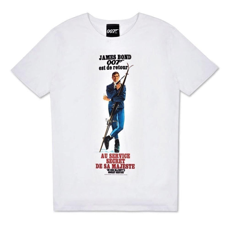 On Her Majesty's Secret Service Vintage Poster T-Shirt