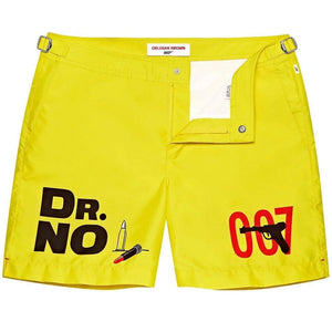 Dr. No Graphic Bulldog Swim Shorts By Orlebar Brown - 007STORE