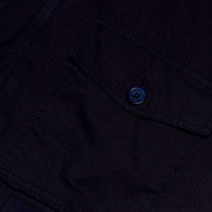 Midnight Blue Harrington Jacket - Octopussy Edition - By Orlebar Brown - 007STORE
